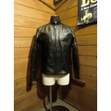 RainbowCountry/Horsehide Stand Collar Riders Jacket