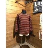 WestRide/Hevy  1/2  Border L/S Tee ブリック