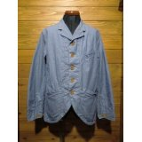 SugarCane/Baja Denim Sack Coat